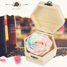 Octagon Wood with Soap Rose Wind Up Music Box : Ghibi Howls Moving Castle