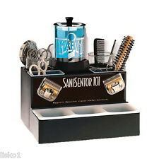 BARBER SHOP SANI-SENTOR 101 SANITIZER UNIT  FOR COMBS, RAZORS, SCISSORS