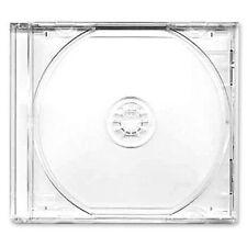 150 X CD/DVD Custodia 10.4mm per 1 Disc con trasparente Supporto Confezione 150