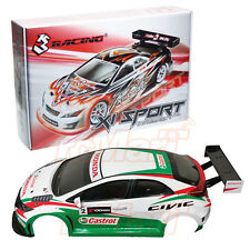 3Racing Sakura XI Sport Honda Civic MK9 WTCC Clear Body Combo RC #CB-KIT-MK9XS