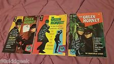 1966 Gold Key GREEN HORNET 1 2 3 comic Bruce Lee signed Van Wiliams Wende Wagner
