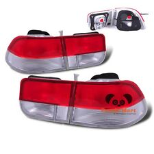Tail Lights FOR 1996-2000 Honda Civic 2-Door Coupe Rear Brake RED Taillights