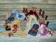 Mattel Barbie Doll MY SCENE CLOTHING LOT Shoes Clothes Jewelry Accessories 36 pc