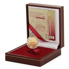 South Africa Honey Bee 1 Rand 2011  1/10 oz .999 Fine Gold Mint Box & COA