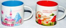 Starbucks Disneyland and California Adventure You Are Here Cups Collection Mugs
