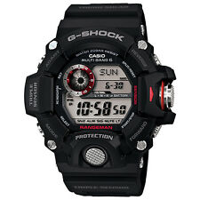 Casio G-Shock GW9400-1 Rangeman Multi-Band 6 Atomic Digital Dial Men's Watch