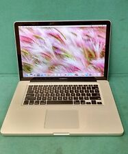 Apple Macbook PRO A1286 2012 Intel Core i7-3615QM 8 GB RAM 500 GB HDD OS X 10.12