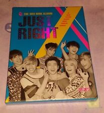 GOT7 - Just Right CD+Booklet (84p) +Photo Card +Unfold Laminated Poster FedEx