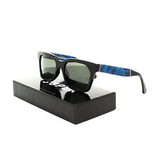 RETROSUPERFUTURE Super America Supremo Sunglasses JL5 Velvet Blue Black Lens