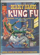 DEADLY HANDS OF KUNG FU   #10  G/VG   (BAGGED & BOARDED) FREEPOST