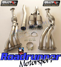 Milltek Exhaust Golf R32 MK5 Manifolds & Sports Cats Stainless 200 Cell SSXVW121