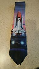 Vintage collectible ties by Ralph Marlin Shuttle Discovery 1994