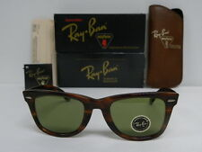 New Vintage B&L Ray Ban Wayfarer 40 Years Anniversary Tortoise RB3 W1399 Limited