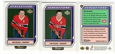 1X JEAN BELIVEAU 1999 00 Upper Deck Retro #G5A GENERATIONS INSERT Lots Available