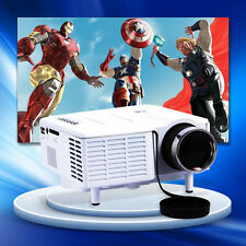 Portable HDMI Mini LED Projector Home Cinema Theater PC Laptop AV VGA USB SD