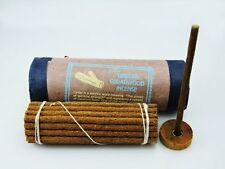 Tibetan Cedar Wood Incense with Burner