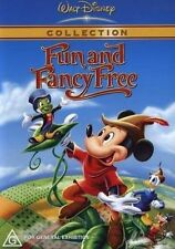 Fun And Fancy Free * NEW DVD * Walt Disney Mickey Mouse Donald Duck Goofy Jiminy