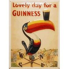 Guinness Weather Vane large embossed steel wall sign (hi 4030)