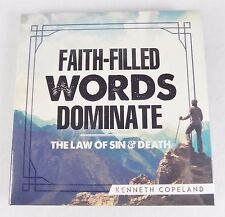 NEW~KENNETH COPELAND~FAITH-FILLED WORDS DOMINATE~LAW OF SIN&DEATH~2 AUDIO CD SET