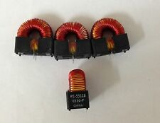 x4 NEW PULSE PE-53118 INDUCTORS, 470uH, 3A, 470 MICRO HENRYS