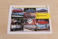 159968) Renault R 5 21 Espace Elia - LM-Räder - Prospekt 198?