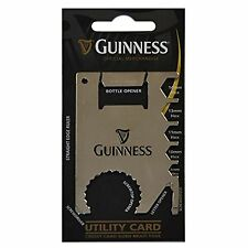 GUINNESS GIFT UTILITY CARD - OFFICIAL MERCHANDISE - MULTI TOOL CREDIT CARD SIZE