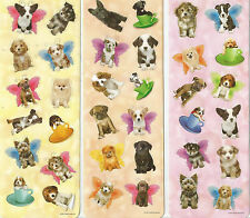 Cute Dogs Puppies Scrapbook Stickers