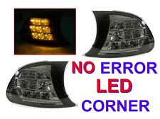 DEPO 02-03 BMW E46 2D Coupe/Convertible AMBER LED SMOKE SCREW-ON CORNER LIGHT