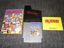 DR MARIO - NINTENDO NES PAL GAME BOXED WITH MANUAL