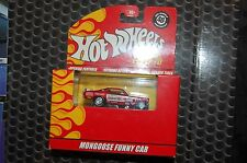Hot Wheels 40th ANNIVERSARY MONGOOSE Funny Car 100% Hotwheels snake & mongoose