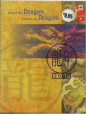 Hong Kong /China /Canada Stamp -Thematic Collection -2000 Year of the Dragon MNH