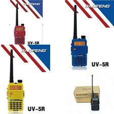 HAM 2 Way Radio Scanner Handheld Police Fire Transceiver Portable 4 Colors for U