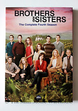 Brothers and Sisters Fourth 4th Season 4 Brothers & Sisters on DVD w/ Slipcover