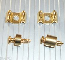 NEW 2 GUIDE STRINGS Gotoh style - gold - for Fender, Squier