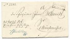 Altdeutschland/Preußen: Rechteckstempel HATTINGEN (Arnsberg) auf Brief von 1859!