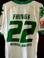 2008-09 Werder Bremen Home Shirt  FRINGS Player Issue Soccer Jersey XL Rare
