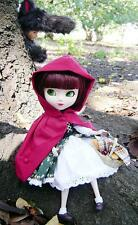 MUÑECA JAPONESA,  PULLIP, LITTLE RED RIDING HOOD, DE JUN PLANNIG, ARTICULADA,