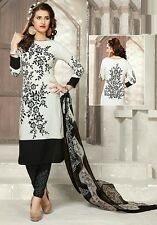 Elegant Crepe Printed Unstitched Dress Material Suit D.No SM5491
