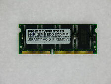 128MB EDO MEMORY RAM NON-PARITY 60NS SODIMM 144-PIN