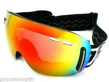 DIRTY DOG Frameless DRIFT Ski Snowboard Goggles FIRE Fusion MIRROR 54099