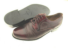 Stamati Mastrionni Men All Leather Cap Toe Oxfords Made In Italy Size 10W