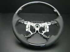 Toyota CAMRY AURION 2007-2011 wood leather steering wheel-Black piano