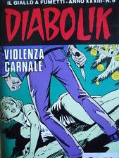 DIABOLIK - prima edizione - anno XXXIII N°9 [G.245]
