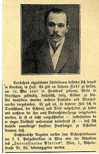 Johann Zobl aus Innsbruck mit Einbruchswerkzeugen in Konstanz verhaftet * 1910