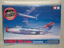 Tamiya 1/48 Scale MiG 15 bis Clear Edition - Factory Sealed