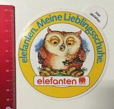 Aufkleber/Sticker: Elefanten - Meine Lieblingsschuhe (07061625)