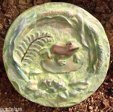 Gostatue mold Plaster concrete frog plaque mould