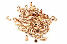 200x best quality pcb copper via vias  through hole rivets . ID 0.4mm OD 0.6mm.