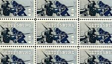 1963 - GETTYSBURG (CIVIL WAR) - #1180 Mint -MNH- Sheet of 50 Postage Stamps