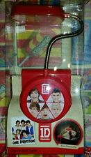 1D One Direction Clip-on Bed Light Lamp Red New Boxed.